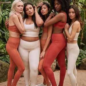 ISO Girlfriend Collective in Pink Dusty Rose Hues